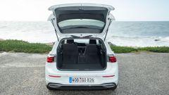 Volkswagen Golf, il bagagliaio