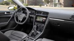Volkswagen Golf: impianto di infotainment con monitor da 9,2