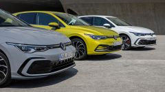 Volkswagen Golf: la gamma delle ibride