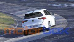 Volkswagen Golf R 2020, il posteriore