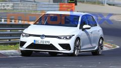 Volkswagen Golf R 2020, le gomme sono molto ribassate