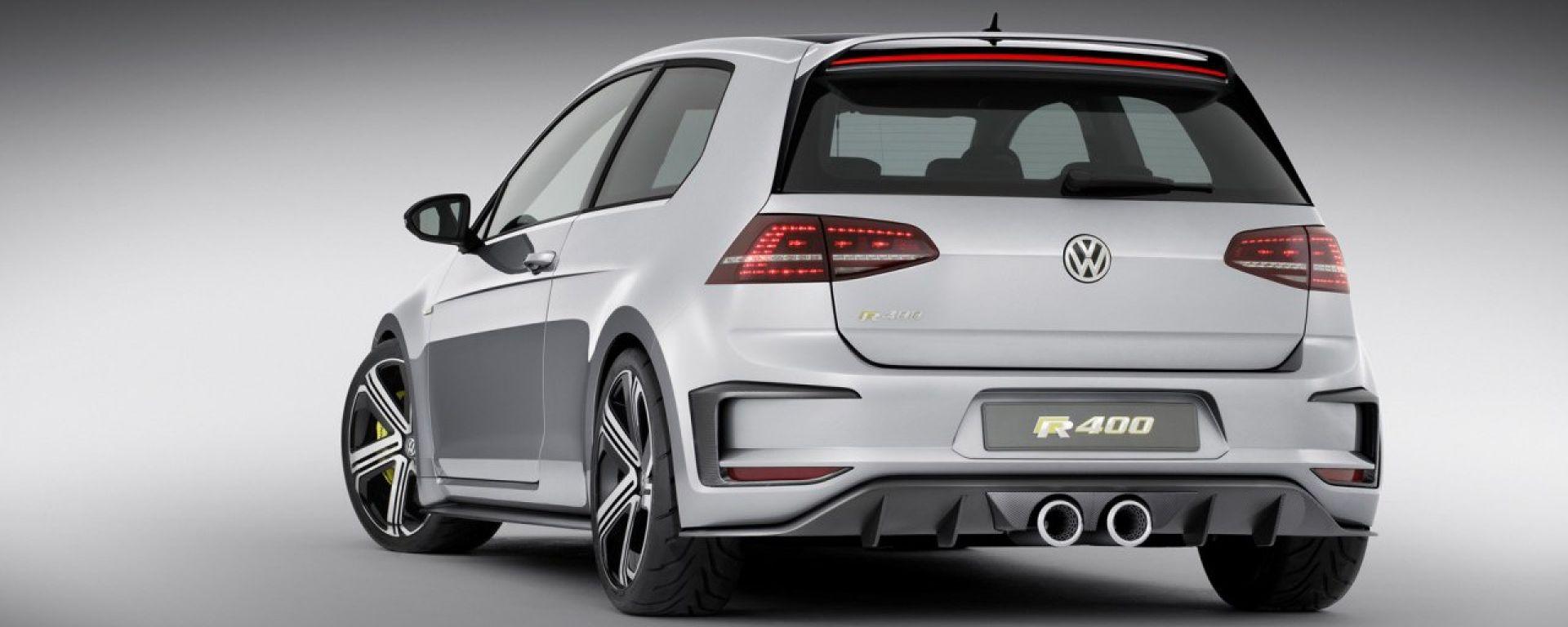 Volkswagen Golf R 400: le nuove foto