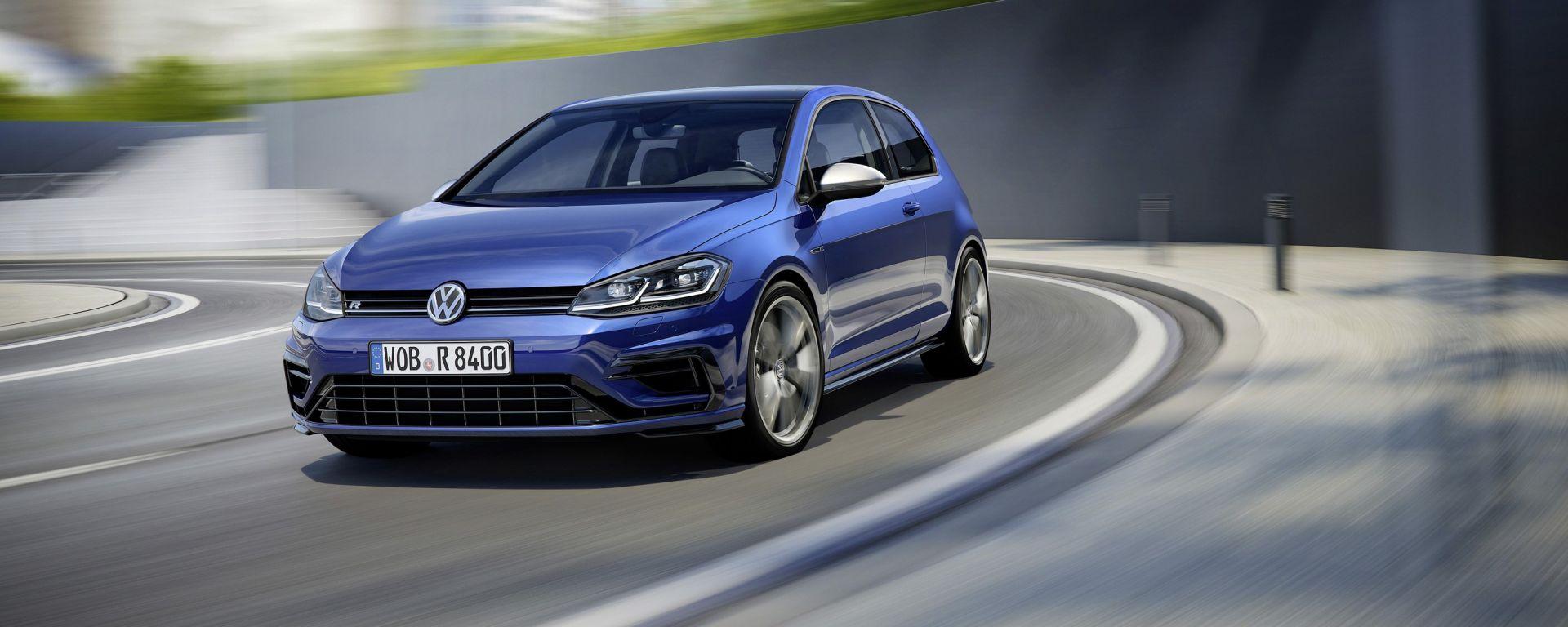 Volkswagen Golf R: anche la più cattiva è stata sottoposta a un restyling
