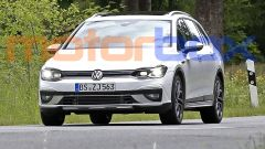 Volkswagen Golf R Variant 2020: il video spia