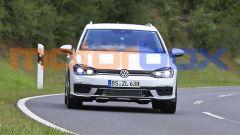 Volkswagen Golf R Variant 2021: vista da davanti