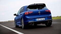 Volkswagen Golf R, visuale di 3/4 posteriore
