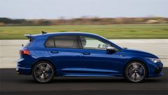 Volkswagen Golf R, visuale laterale
