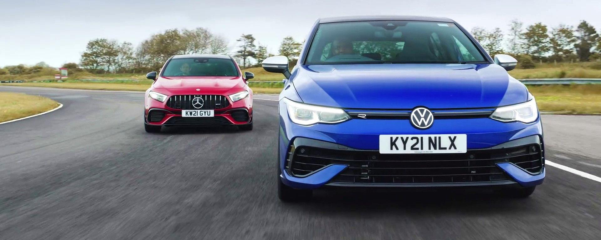 Volkswagen Golf R vs Mercedes-AMG A45 S