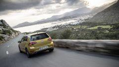 Volkswagen Golf restyling: l'aspetto generale dell'auto rimane pressoché immutato