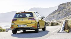 Volkswagen Golf restyling: le luci posteriori sono full led su tutti gli allestimenti