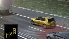 Volkswagen Golf restyling: numerosi i sistemi di assistenza alla guida