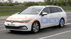 Volkswagen Golf Variant 2021: l'anteriore è uguale alla Golf 8 berlina