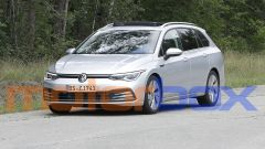 Volkswagen Golf Variant 2021: le foto spia