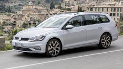 Volkswagen Golf Variant, fine delle trasmissioni