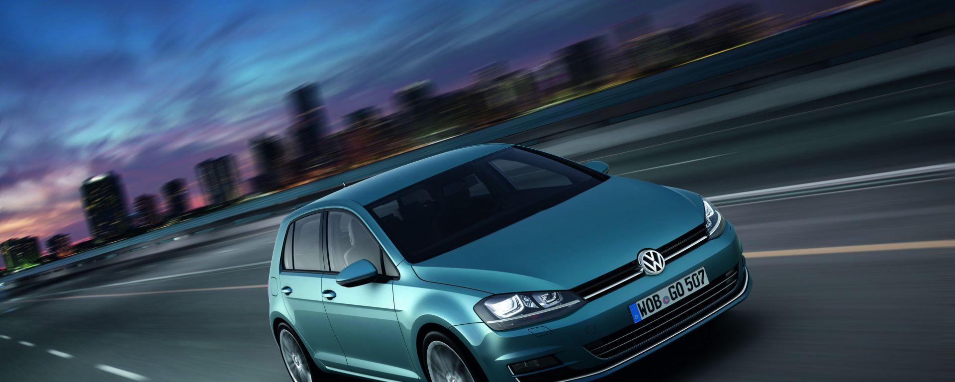 Volkswagen Golf VII, foto e dati ufficiali