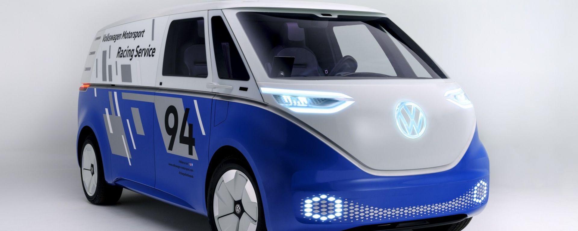 Volkswagen I.D. Buzz Cargo Concept: il van a zero emissioni