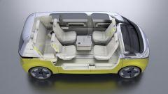 Volkswagen I.D. Buzz concept  allestito come salottino semovente