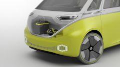 Volkswagen I.D. Buzz concept : anche davanti c'è è spazio per i bagagli