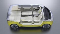 Volkswagen I.D. Buzz concept  è pensato anche per poterci dormire