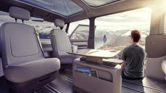 Volkswagen I.D. Buzz concept  è pensato per la massima vivibilità