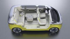 Volkswagen I.D. Buzz concept : gli arredi si possono riconfigurare a piacimento