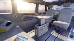 Volkswagen I.D. Buzz concept : gli interni sono configurabili in vari modi