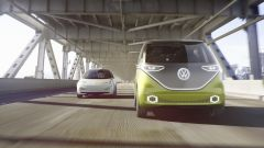Volkswagen I.D. Buzz concept ha il pianale modulare della I.D. Concept vista a Parigi