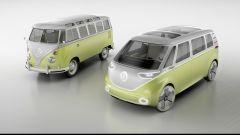 Volkswagen I.D. Buzz concept : la somiglianza con lo storico Bully è evidente