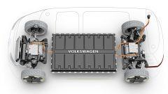 Volkswagen I.D. Buzz concept : le batterie nel pianale danno oltre 434 km di autonomia