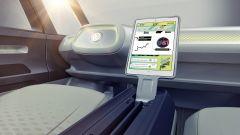 Volkswagen I.D. Buzz concept : nella guida autonoma, il volante si ritrae nella plancia