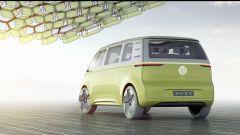 Volkswagen I.D. Buzz concept : vista 3/4 posteriore
