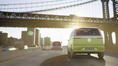 Volkswagen I.D. Buzz concept : vista posteriore