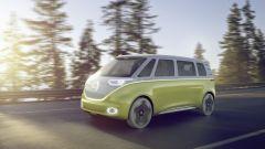 Volkswagen I.D. Buzz è una concept car basata sul pianale Modular Electric Drive Kit (MEB)