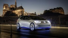 Volkswagen I.D. Concept e Notre Dame de Paris