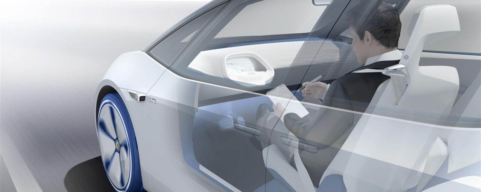 Volkswagen I.D. Concept, guidare senza mani