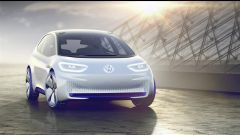 Volkswagen I.D. Concept, il frontale