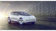 Volkswagen I.D. Concept, tre quarti anteriore