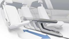 Volkswagen I.D. Concept, tunnel centrale scorrevole