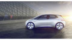 Volkswagen I.D. Concept, vista di profilo