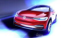 Volkswagen ID Crozz al salone di Francoforte 2017