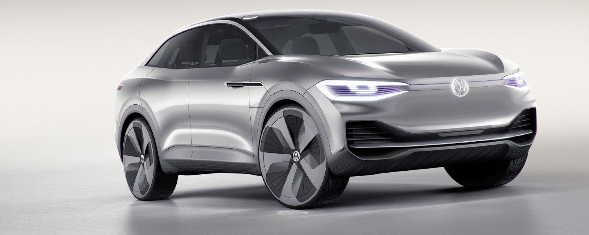 Volkswagen I.D. Crozz Concept: sguardo hi-tech con i fari full led