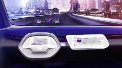 Volkswagen I.D. Crozz Concept: strumentazione interamente digitale per la guida autonoma