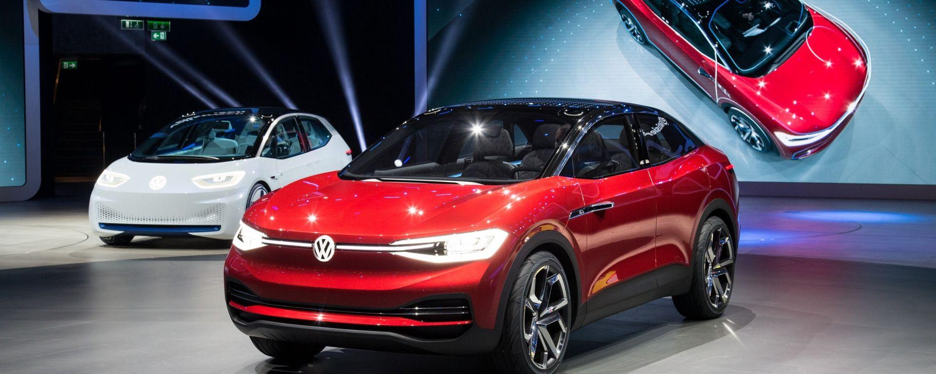 Volkswagen ID Crozz, Salone dell'auto di Francoforte 2017
