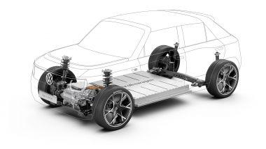 Volkswagen ID. Life, la disposizione di motore e batteria