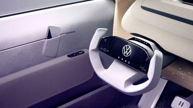 Volkswagen ID. Life, la tasca nelle portiere per lo smartphone