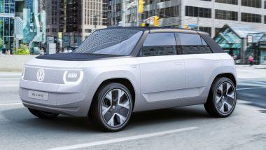 Volkswagen ID. Life, visuale di 3/4 anteriore