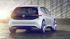 Volkswagen ID Neo 2020: rendering, vista posteriore