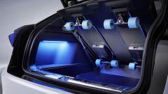 Volkswagen ID. Space Vizzion, il vano bagagli