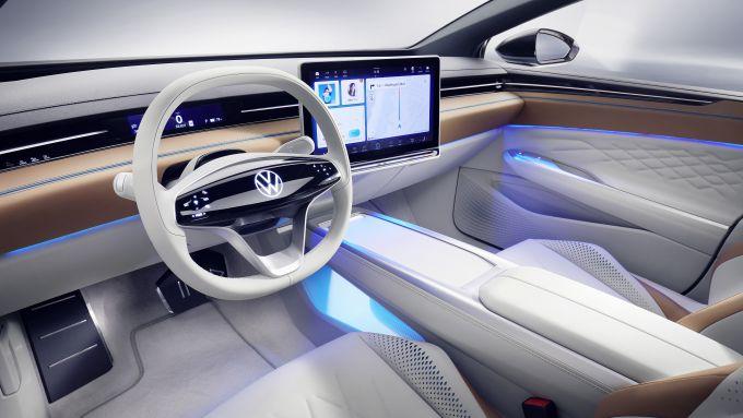 Volkswagen ID Space Vizzion interni