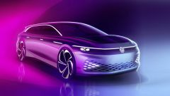 Volkswagen ID. Space Vizzion1, la prima wagon elettrica di Wolfsburg